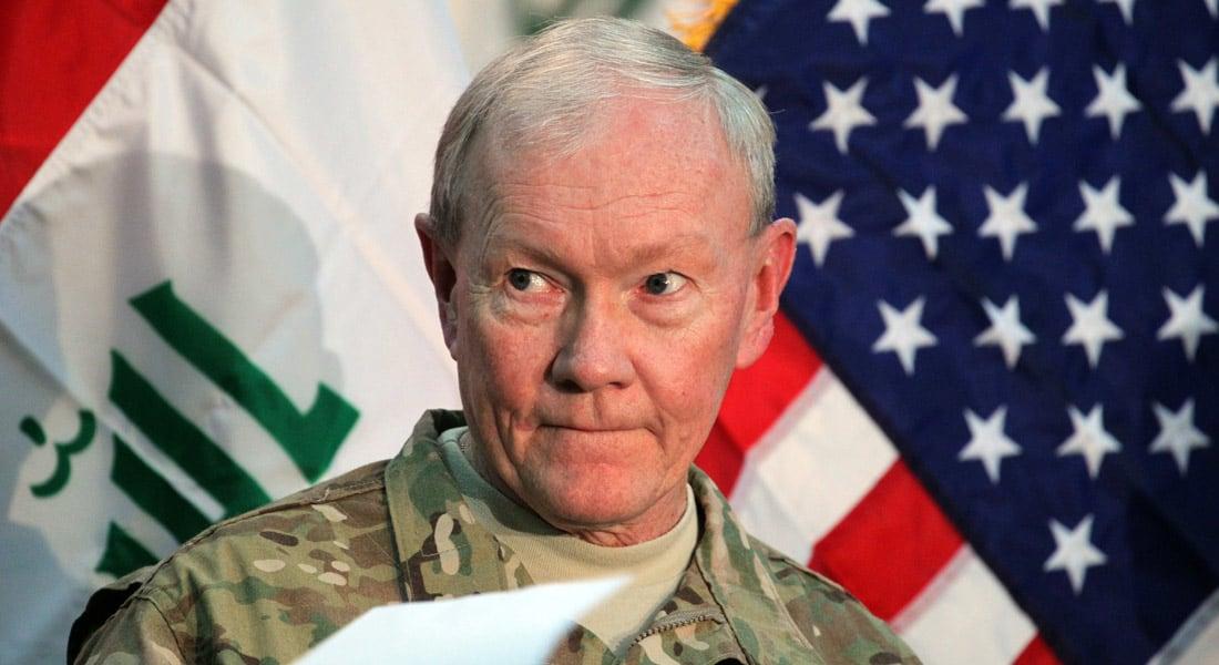 رئيس أركان الجيش الأمريكي: القوات العراقية خرجت طوعا من الرمادي ولم يجبرها داعش.. ويوجد تحقيق حول الأمر
