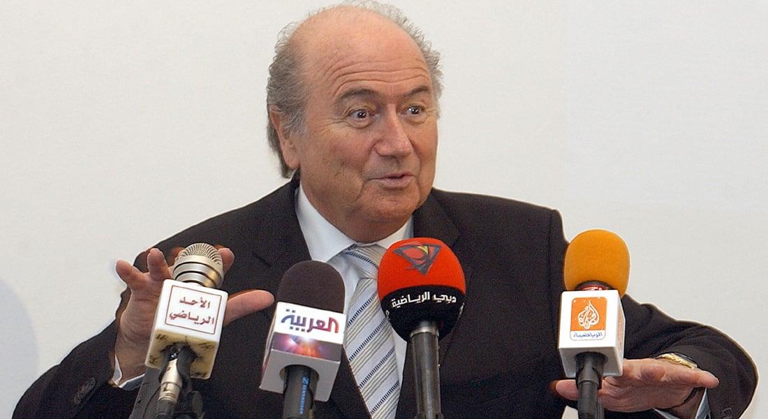 """الاتحاد الفلسطيني يجدد تمسكه بطلبه """"تجميد"""" عضوية إسرائيل بالفيفا وبلاتر يبحث عن """"تسوية"""" بأي شكل"""
