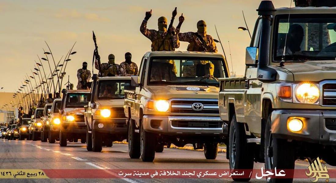 داعش يعلن سيطرته على قاعدة جوية استراتيجية في سرت بليبيا
