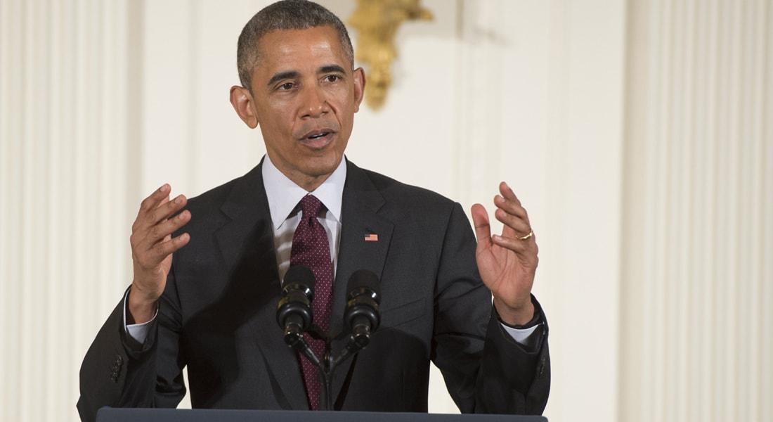 أوباما للقناة الإسرائيلية الثانية: لا أرى اتفاق سلام فلسطينياً - إسرائيلياً خلال رئاستي