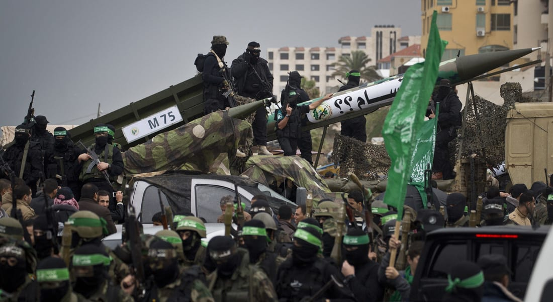 """قصف إسرائيلي يستهدف موقعاً لحماس في غزة رداً على صاروخ تبنته جماعة """"داعشية"""""""