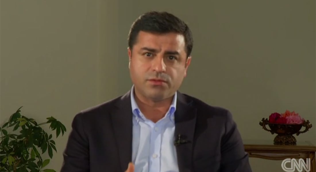 صلاح الدين ديميرتاس زعيم حزب الشعوب التركي لـCNN: أسقطنا ديكتاتورية أردوغان ويجب تغيير سياستنا بسوريا