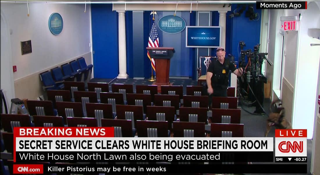 الحرس الرئاسي الأمريكي: إخلاء قاعة اجتماعات في البيت الأبيض بعد تهديد بوجود قنبلة