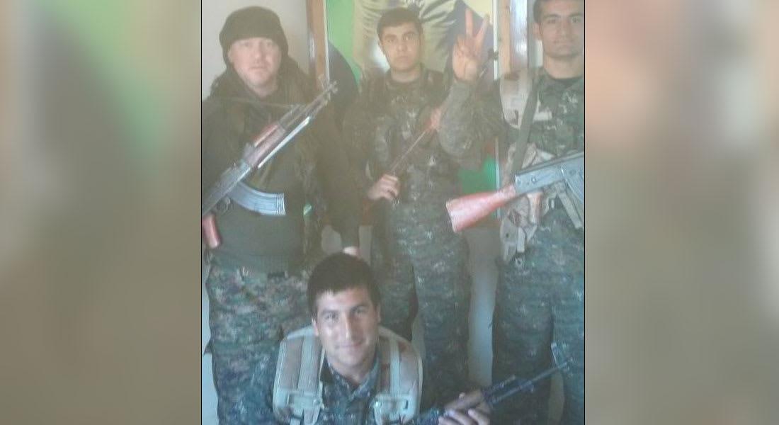 """الممثل البريطاني ضمن صفوف الأكراد: نحتاج لدعم ضد """"داعش"""""""
