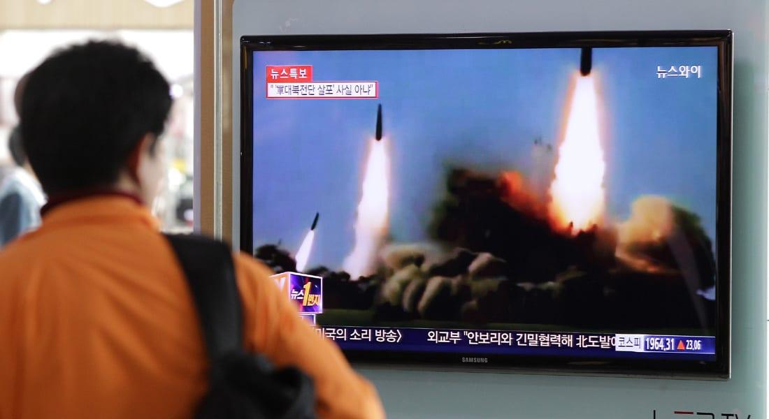 """كوريا الجنوبية تتأهب لـ""""استفزازات محتملة"""" بعد سقوط 3 صواريخ شمالية قرب سواحلها الشرقية"""
