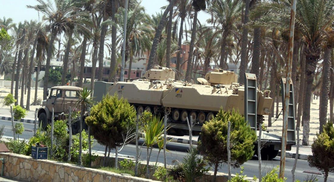 """بعد ساعات من الحكم بإعدام مرسي.. مقتل ضابط شرطة و7 """"إرهابيين"""" بشمال سيناء"""