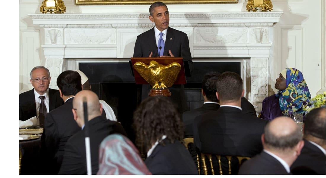 أوباما للمسلمين: رمضان كريم