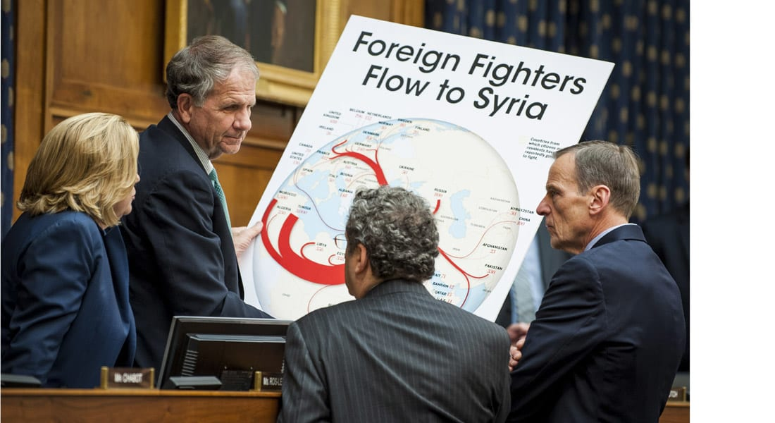 """تقرير الخارجية الأمريكية: """"داعش"""" تغلب على القاعدة.. الهجمات الإرهابية ارتفعت 35% وتركزت في 5 دول"""