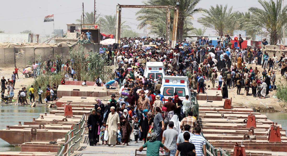 """المنظمة الدولية للهجرة: نزوح 3.1 مليون عراقي بسبب """"حرب داعش"""" غالبيتهم بالأنبار ونينوى"""
