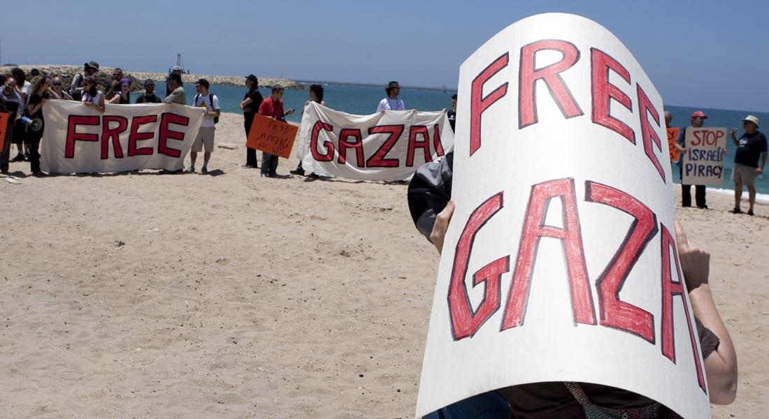 """قافلة مساعدات بحرية تنطلق إلى غزة وتثير """"معركة حادة"""" داخل الكنيست"""