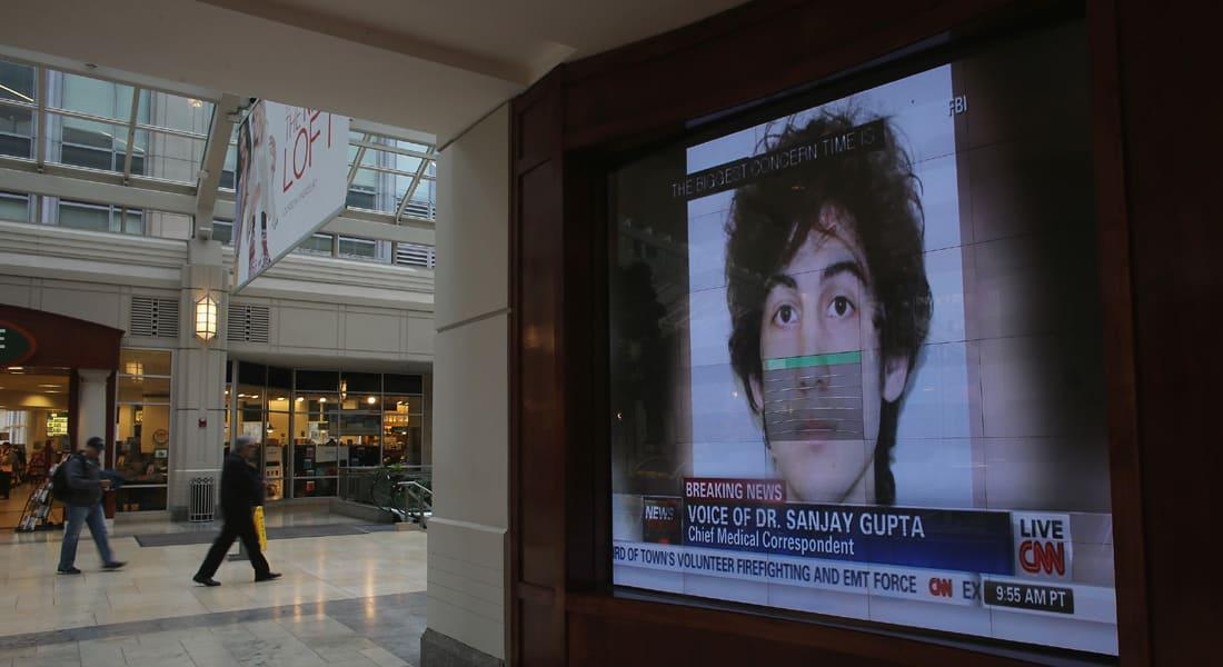 """الإعدام رسمياُ لمنفذ تفجيرات بوسطن.. تسارناييف يعتذر لضحاياه ويأمل بـ""""رحمة الله"""""""
