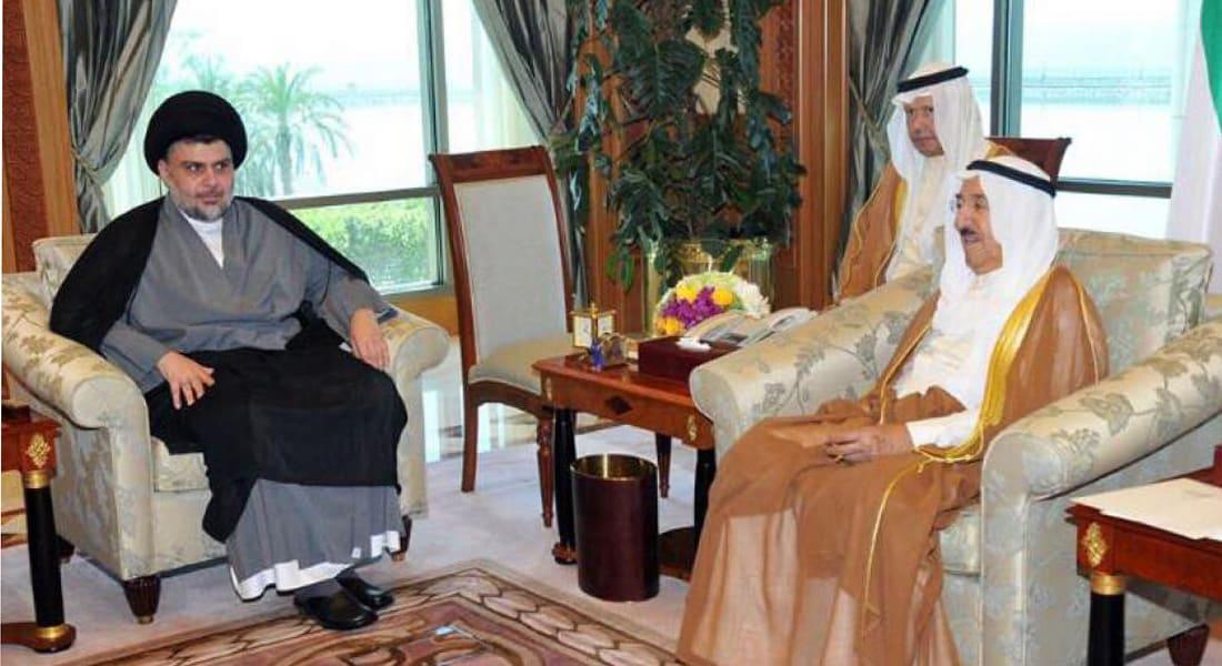 مقتدى الصدر يعزي أمير الكويت ويخيّر البغدادي بين التوبة وموالاة أهل البيت أو الرجم