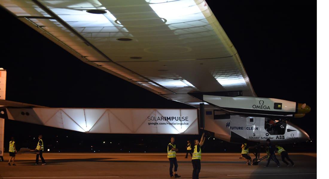 الطائرة الشمسية سولار امبلس 2 تهبط في هاواي بعد أن قطعت 8200 كيلومتر