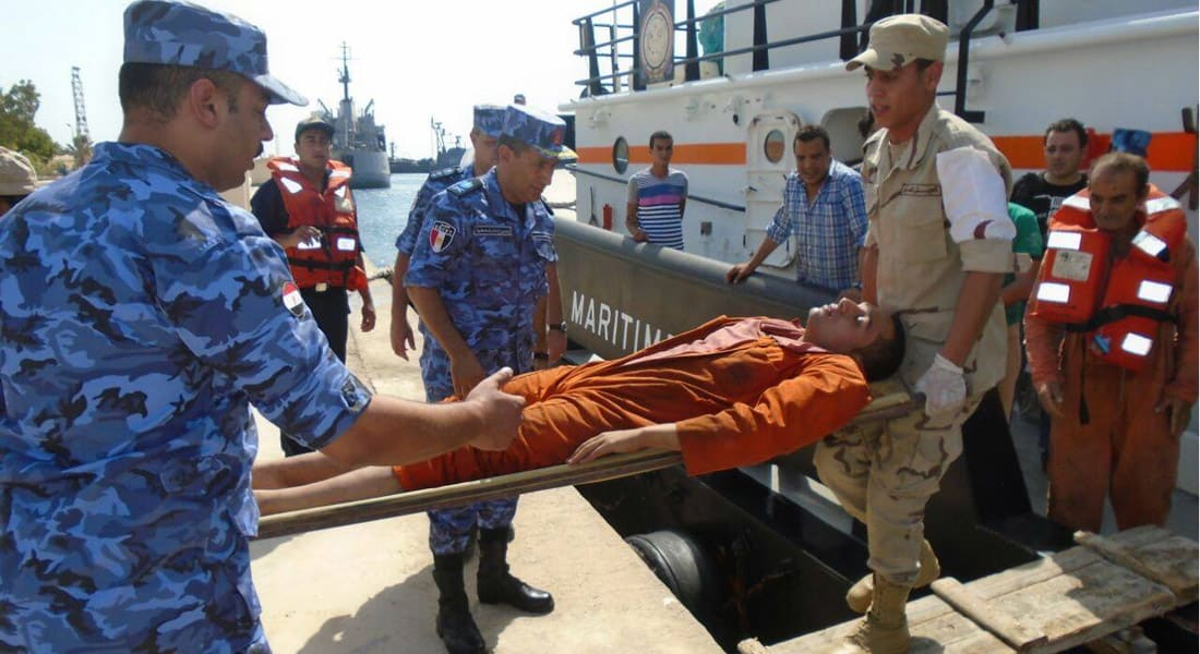 """إنقاذ لبناني وسوداني و35 مصريا من غرق """"طابا"""" بين مصر والسعودية"""