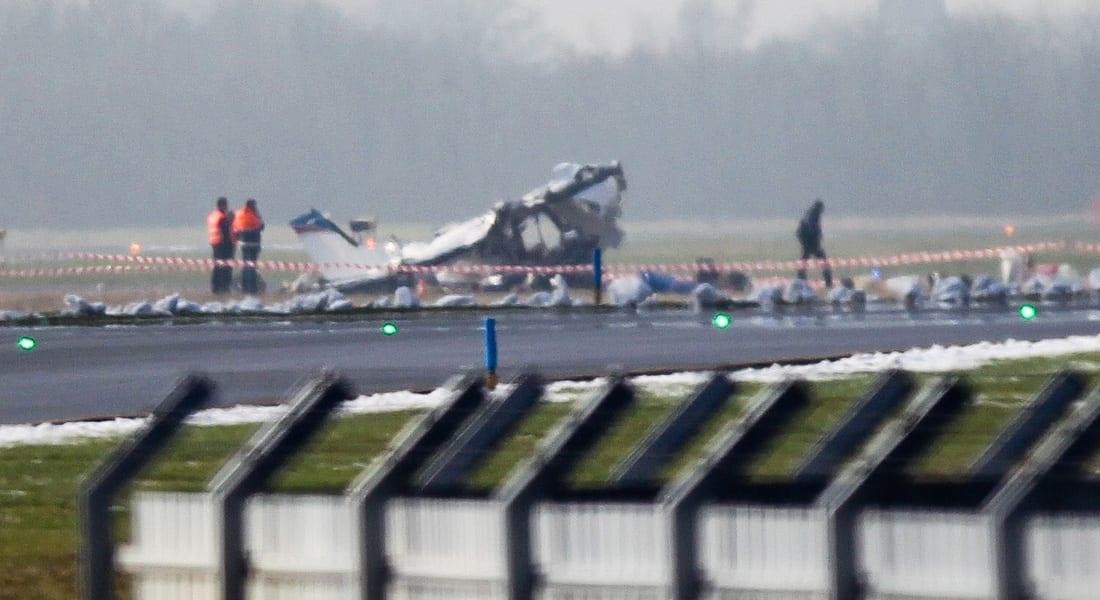 """تصادم بين مقاتلة """"إف 16"""" وطائرة مدنية صغيرة بأجواء كارولينا الجنوبية"""
