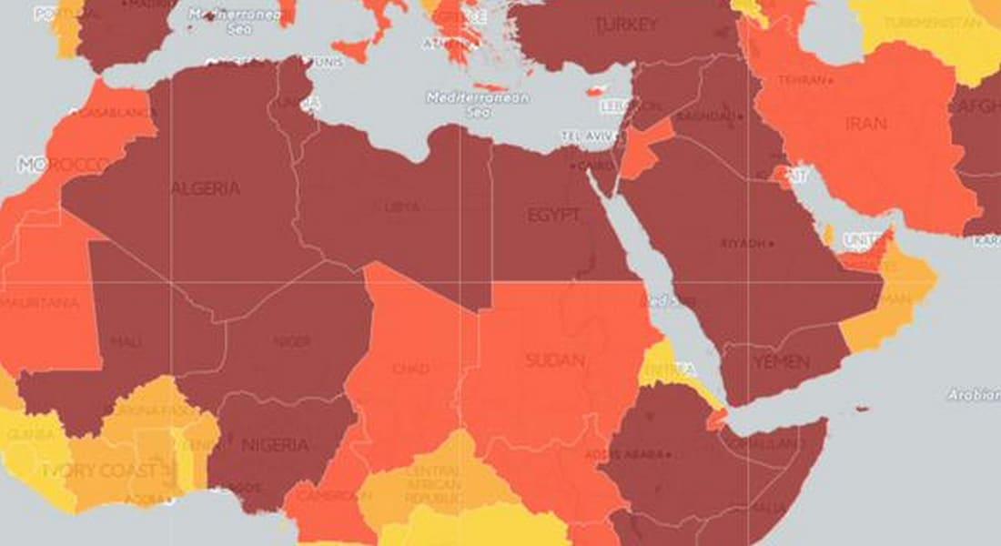 الفراج يستشهد بخارطة تظهر مستوى التهديدات الأمنية: أقلها في الإمارات وقطر وعُمان والكويت.. والعالم فقد عقله