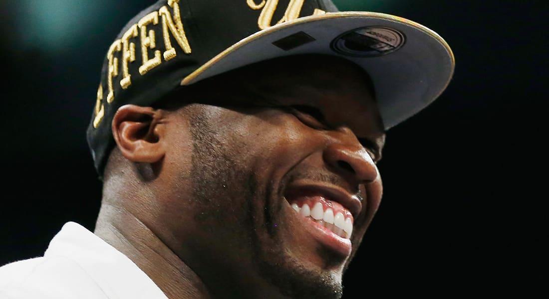 مغني الراب الأمريكية 50 Cent يعلن إفلاسه
