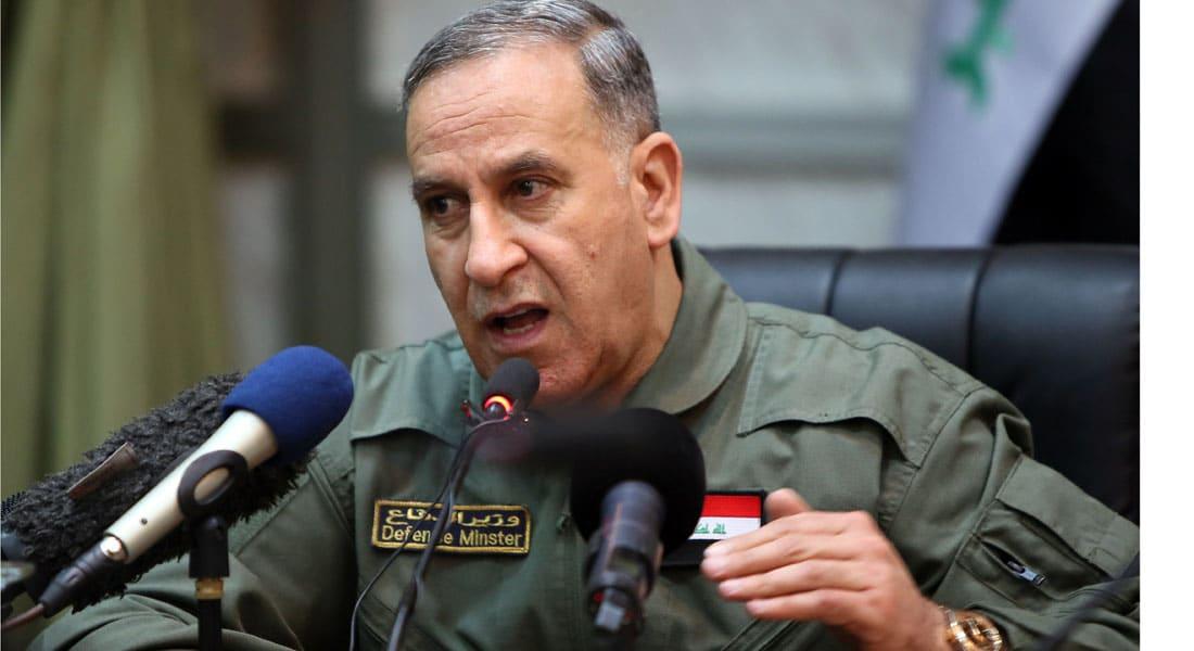 وزير الدفاع العراقي: الرمادي في متناول اليد والخطة العسكرية تسير وفق التوقيتات المحددة