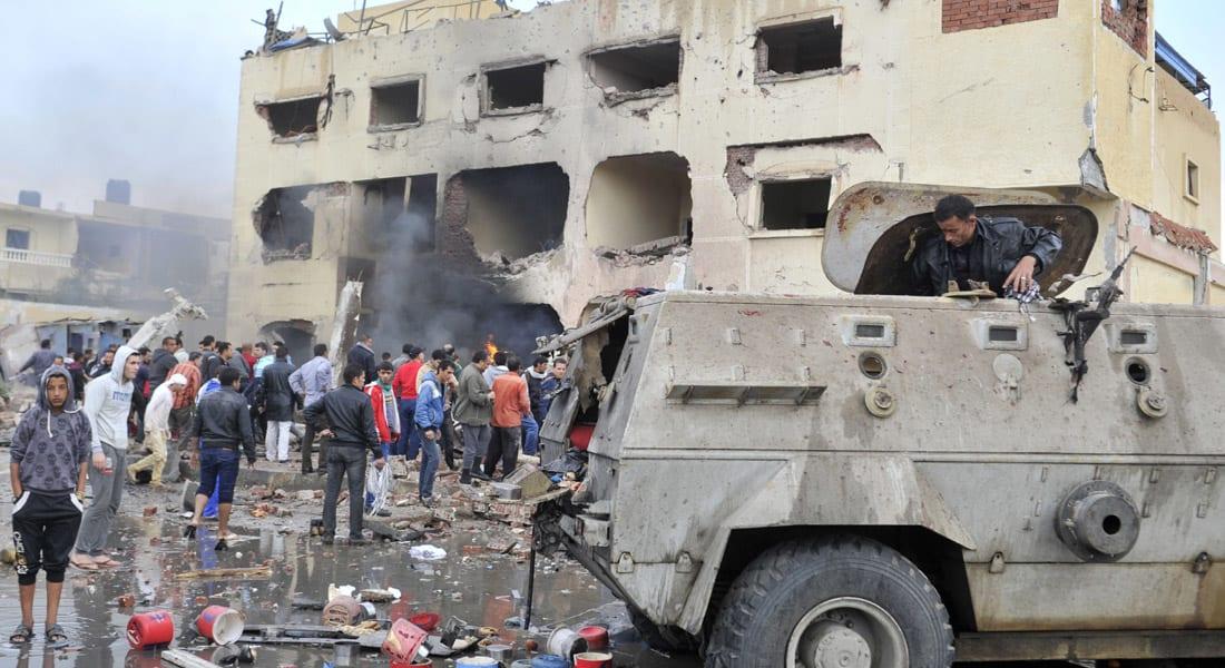 """مصر.. الجيش يؤكد """"تصفية"""" 59 """"إرهابياً"""" ومقتل 3 عسكريين بـ""""قذيفة عشوائية"""""""