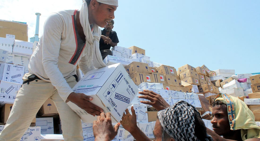 الأمم المتحدة: وصول سفينة محملة بالأغذية تكفي لإطعام 180 ألفا لمدة شهر