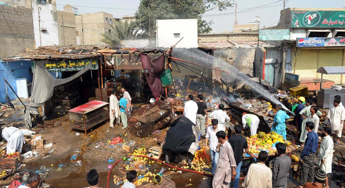 أفغانستان.. تفجير انتحاري بسوق شعبية مزدحمة وأنباء أولية بسقوط 15 قتيلاً