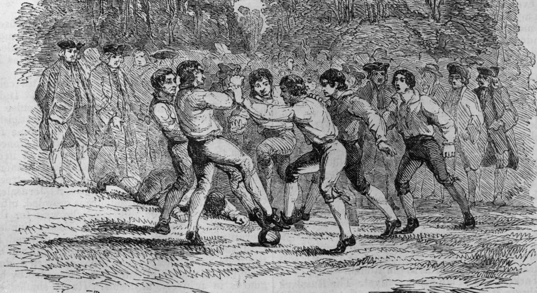 أفراح ملاعلي تكتب لـCNN عن نشأة كرة القدم واللاعبين المحاربين من الهنود الحمر