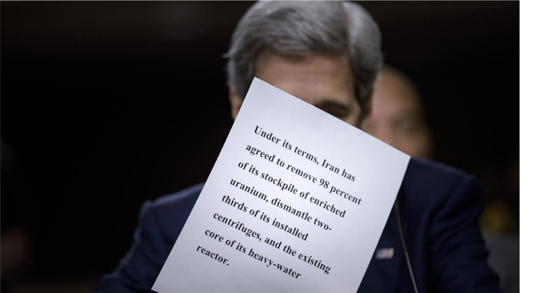 كيري يدافع عن الاتفاق أمام الشيوخ.. وسيناتور: تحول الكونغرس إلى منبوذ بدلا من إيران
