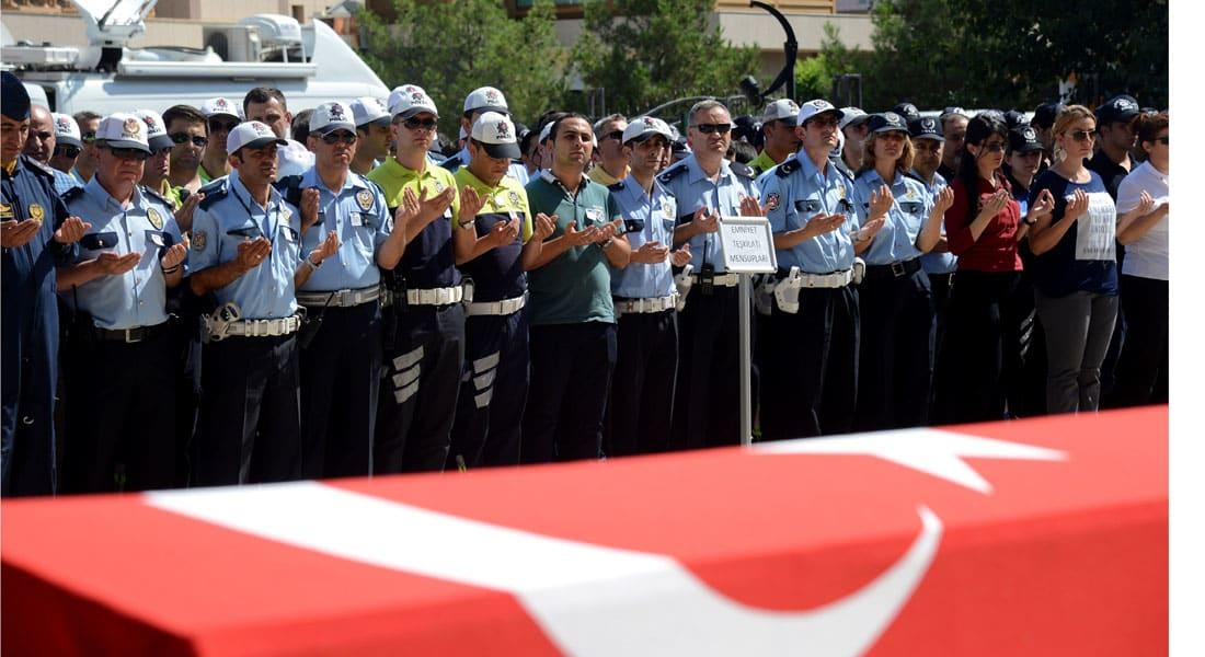 """مقاتلات F-16 التركية شنت الغارات على مواقع """"داعش"""" دون دخول الأجواء السورية"""