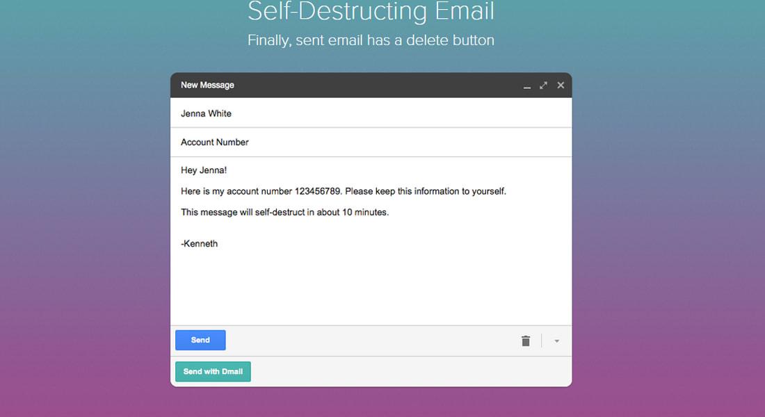 """غوغل تضيف خاصية """"التدمير الذاتي"""" على رسائل Gmail الإلكترونية"""