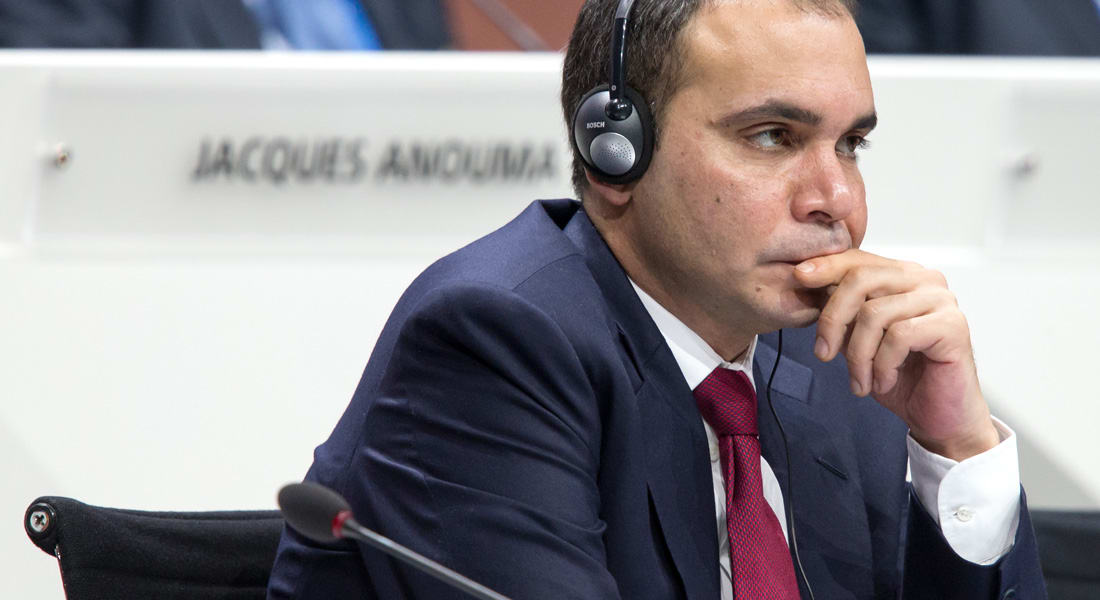 """الامير علي: بلاتيني لا يصلح لرئاسة الفيفا ويجب إيقاف """"صفقات العمل من تحت الطاولة"""""""