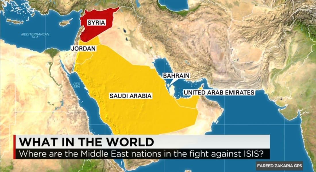 زكريا لـCNN: أين الدول العربية؟ بالأرقام الدنمارك شنت غارات ضد داعش أكثر من الأردن والسعودية والبحرين والإمارات ومصر مجتمعة