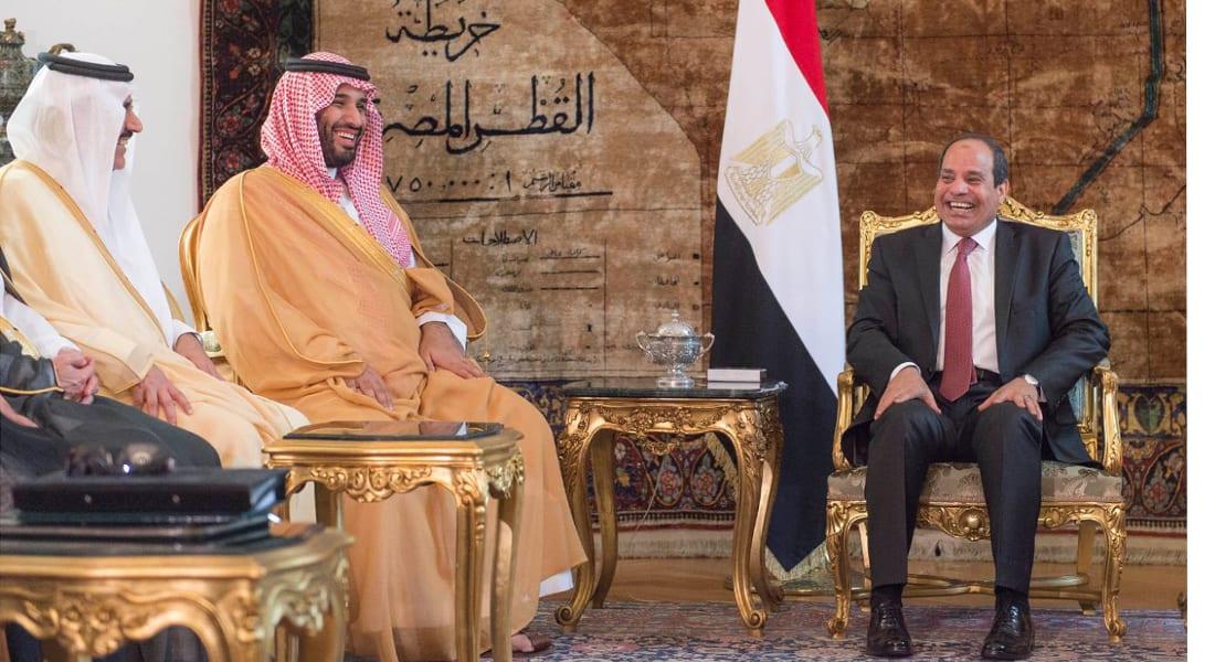 """اتفاق سعودي مصري على """"تعاون بين جناحي الأمة"""" في 6 مجالات بينها العسكري وترسيم الحدود"""