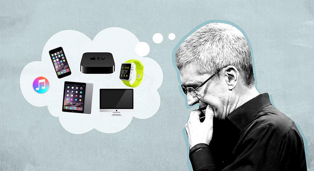 """6 أشياء تيم كوك قلق منها قبل إعلانه عن """"أي فون"""" 6S"""