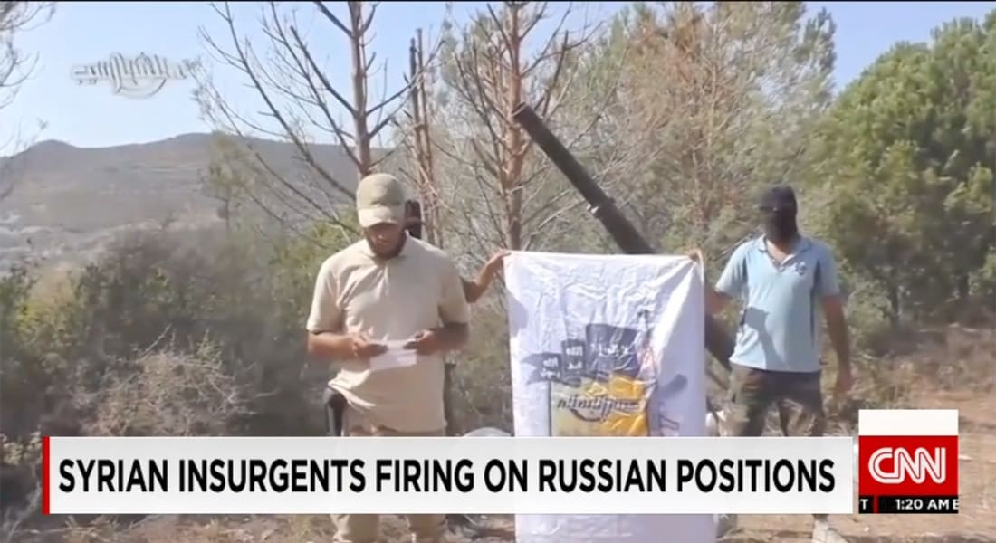 """""""جيش الإسلام"""" يستهدف مواقع روسية في سوريا.. ومحلل لـCNN: حماية روسيا للأسد يوجب مقاتلة الإسلاميين والثوار و""""الحر"""" إلى جانب داعش"""