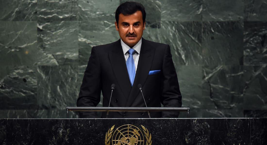 أمير قطر: الصراع في سوريا تحول لحرب إبادة.. و الاختلافات بين إيران ودول الخليج سياسية وليست مذهبية