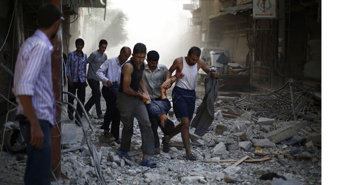 7 دول بينها أمريكا والسعودية تطالب روسيا بالتوقف عن مهاجمة المدنيين والمعارضة في سوريا.. والمعلم: المفاوضات لن تحل الأزمة
