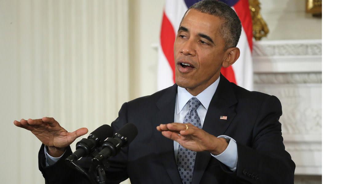 أوباما: سوريا لن تتحول إلى حرب بالوكالة بين أمريكا وروسيا.. والغارات ستدفع موسكو إلى مستنقع