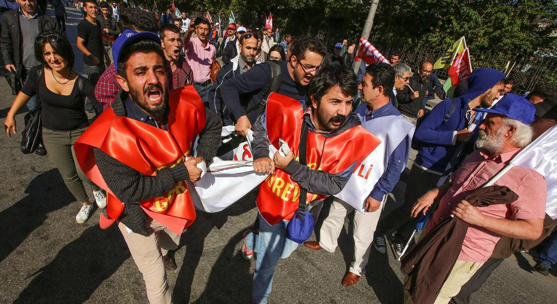 """إدانات دولية واسعة لتفجيرات أنقرة تنضم إليها مصر و""""إخوان سوريا"""" تضامناً مع الشعب التركي في """"لحظة حرجة"""""""