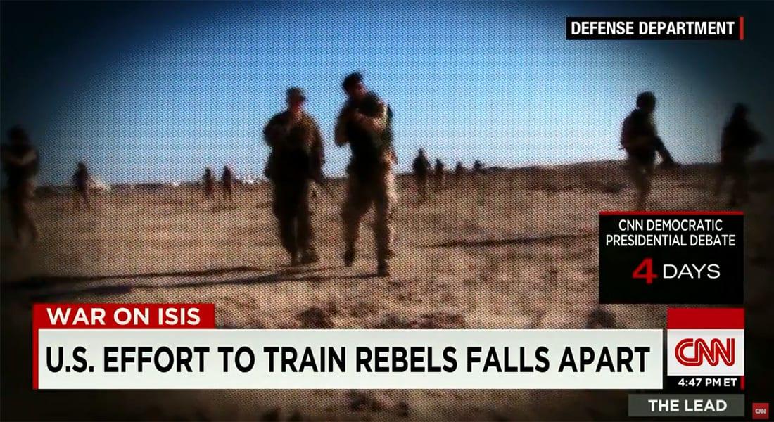 محلل لـCNN: برنامج أمريكا لتدريب المعارضة السورية كان مقيدا وأشبه بدفع المقاتل لساحة المعركة وأحد أذرعه خلف ظهره