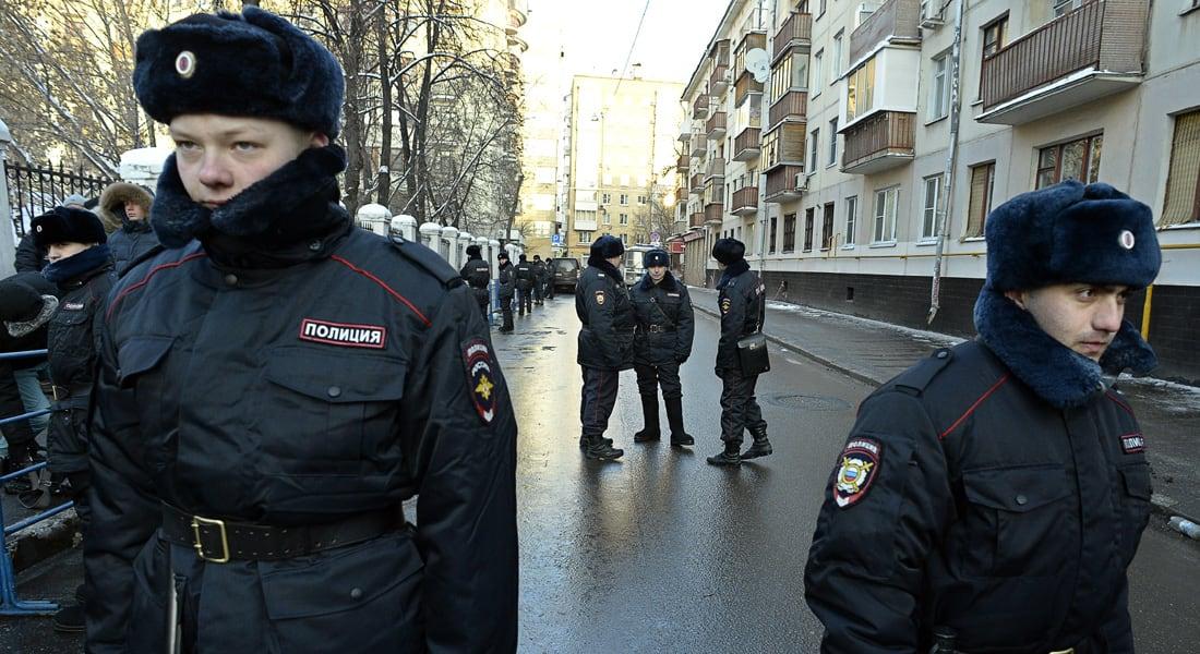 """روسيا تعلن عن إحباط """"مؤامرة إرهابية"""" في موسكو واعتقال """"متورطين"""" بعملية أمنية"""
