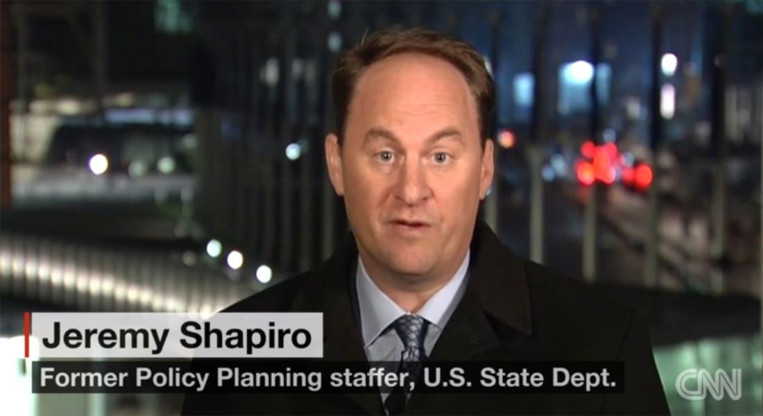 مسؤول سابق بالخارجية الأمريكية لـCNN: سوريا ليست مهمة للغاية بالنسبة للولايات المتحدة وعلينا استيعاب ذلك.. وإرسال روسيا لقوات لن يكون منبعا لقوتها