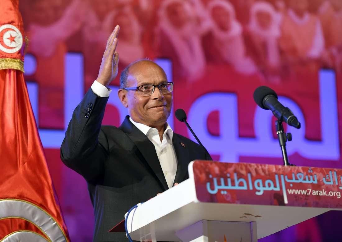 المرزوقي يرفض تخلّي الأمن الرئاسي عنه ويحمّل السبسي مسؤولية أيّ سوء يُصيبه