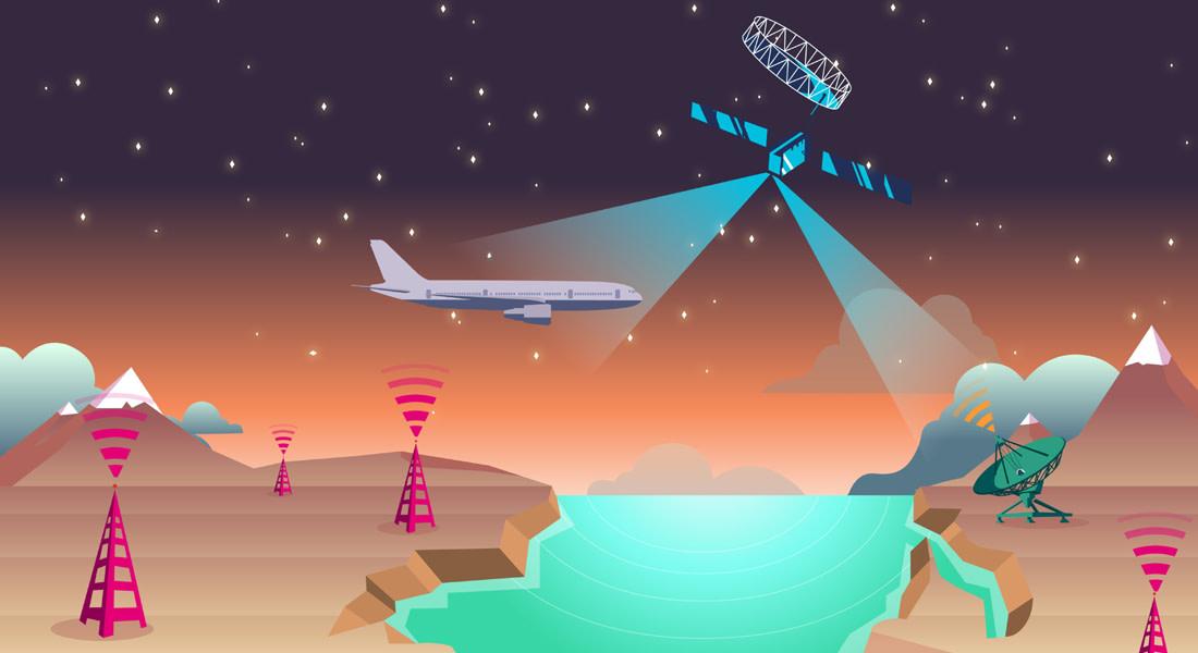 هل نشهد قريباً على أسرع إنترنت على متن الرحلات الجوية؟ 75 ميغابايت بالثانية