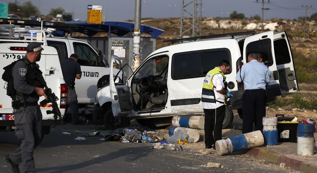 """مقتل فلسطينيين رمياً بالرصاص وإسرائيلي دهساً.. وكي مون ينزع فتيل التوتر بـ""""رسالة طموحات"""""""