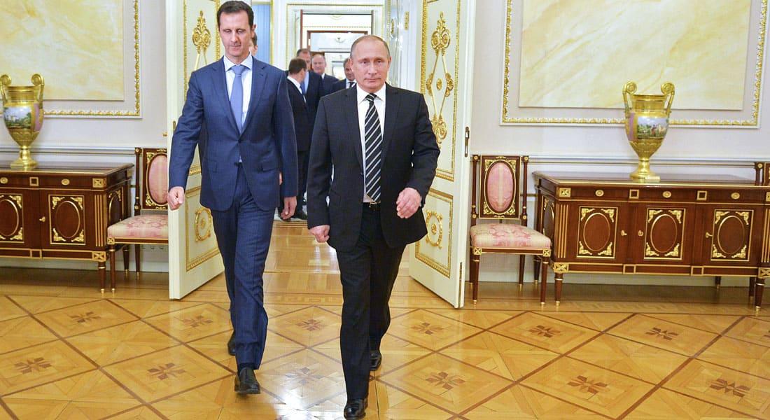 """دمشق ترد على العطية مهددة قطر بـ""""رد قاس"""".. وإعلام إيران يربط زيارة الأسد لبوتين بحسم في الميدان"""