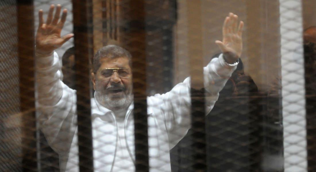 """مصر.. سوء الطقس يحول دون إحضار مرسي وتأجيل قضية """"التخابر مع قطر"""" لـ9 نوفمبر"""