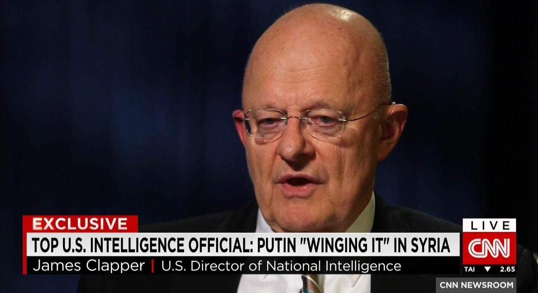 كبير الجواسيس بأمريكا يبين حصريا لـCNN طريقة تفكير بوتين في سوريا