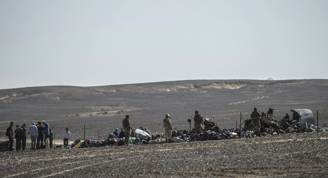 مصر: دائرة عمليات البحث عن ضحايا الطائرة الروسية قطرها 9 كيلومترات.. و196 جثمانا عادت لروسيا الأحد