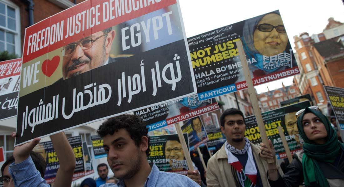 السيسي أول رئيس مصري يزور بريطانيا منذ 13 عاماً: الشعب هو من يقرر مصير الإخوان