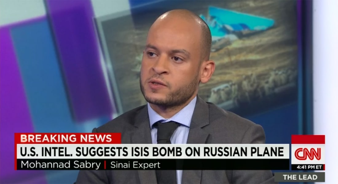 خبير بشؤون سيناء لـCNN: زرع داعش لقنبلة بمطار شرم الشيخ ممكن.. ورأينا التنظيم يقوم باختراقات أمنية أكبر بسيناء سابقا